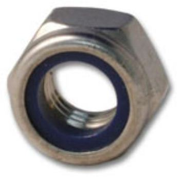 Picture of M8 Nyloc Nuts Marine Grade A4 316  x 10