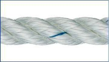 Picture of 12mm Liros 3 strand Nylon Rope 100m reel only £114.70