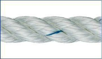 Picture of 24mm Liros 3 strand Nylon Rope 100m reel only £462.50