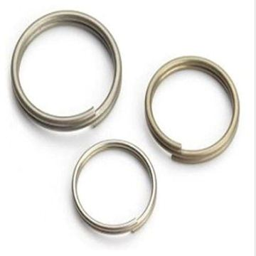 Picture of 10 Split Rings Stainless 16mm diam