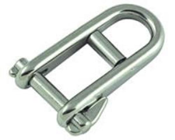 Picture of Key pin Shackle with bar 6mm pin