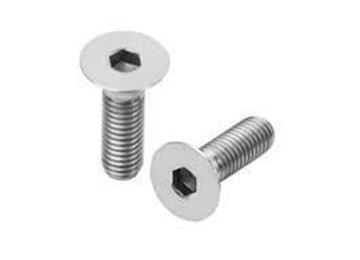 Picture of M6 x 25mm Countersunk Allen head Bolt A4 316 x 10