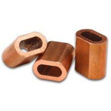 Picture of 10 x 4mm Copper Ferrules