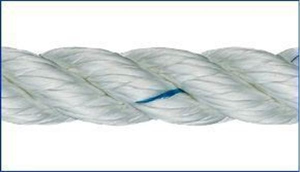Picture of 6mm Liros 3 strand Nylon Rope 100m reel only £43.20
