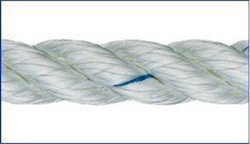 Picture of 8mm Liros 3 strand Nylon Rope 100m reel only £54.60