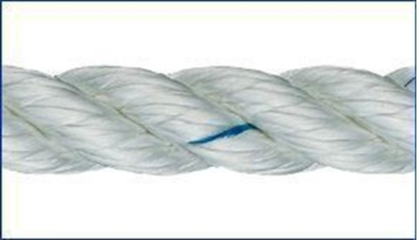 Picture of 14mm Liros 3 strand Nylon Rope 100m reel only £155.40
