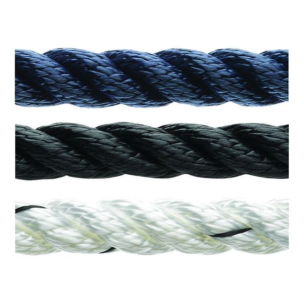 Picture of 6mm Marlow 3 strand Polyester Rope 100m reel only £49.00